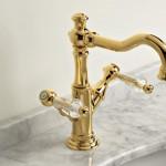 Crystal-monoforo-lavabo-oro