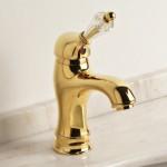 Halley-monocomando-lavabo-oro